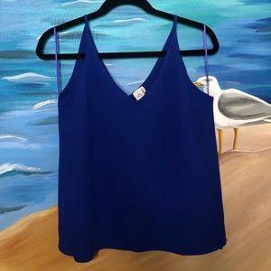 Tops - royal blue blouse
